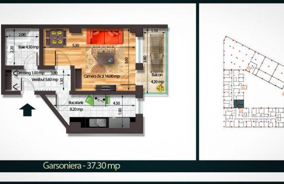 Apartament 1 Camera B 37