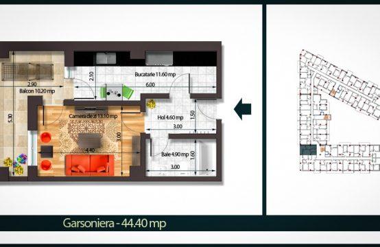 Apartament 2 Camere A 39